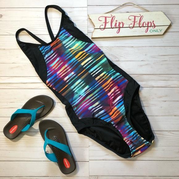 bb89b06fef Athleta Streamline One Piece Swimsuit
